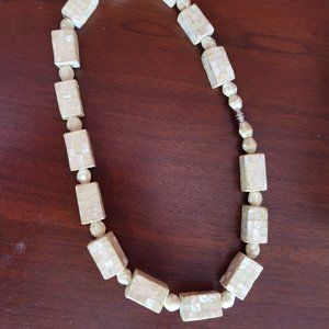 Abalone Shell Chunky Necklace